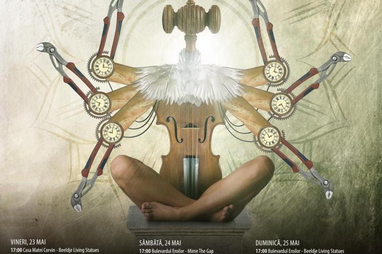 Festivalul de Teatru Experimental MAN.In.FEST se va desfăşura la Cluj, între 23 şi 25 mai