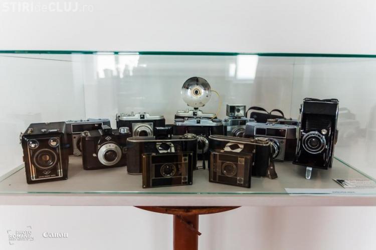 Istoria fotografiei, prezentată în cadrul unei expoziții la Muzeul de Istorie a Transilvaniei, de la Cluj