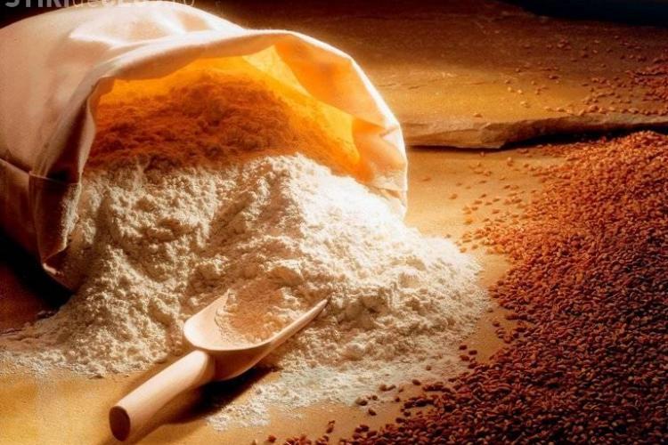 Patru tone de făină și tărâțe confiscate la Cluj