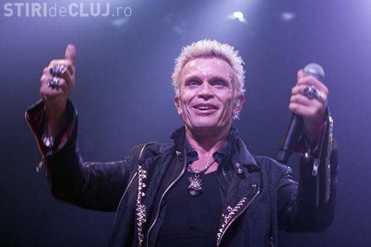 Concert Billy Idol la Cluj! De la ce oră începe show -ul?