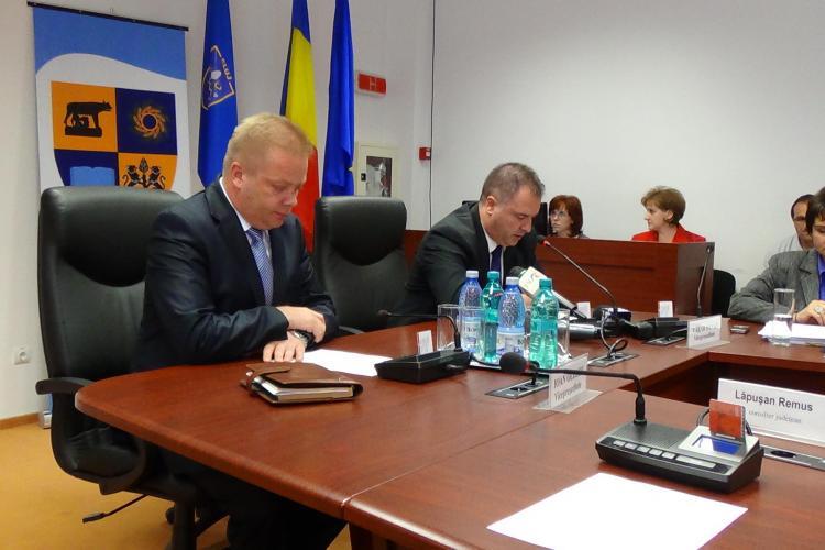 Vakar Istvan este noul președinte al Consiliului Județean Cluj. Vor urma jocuri de CULISE  - VIDEO