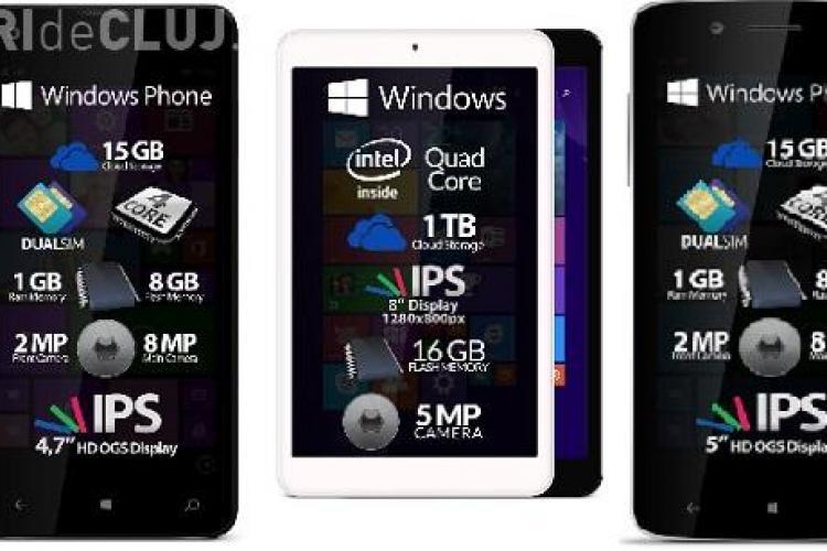 Au apărut primele smartphone-uri românești cu Windows