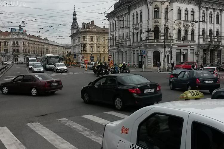"""Lucrările la Podul Horea """"sugrumă"""" traficul în centrul Clujului. În cât timp va fi gata construcția? - FOTO"""