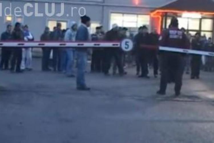 Protest la Salina Dej. Muncitorii s-au închis în subteran