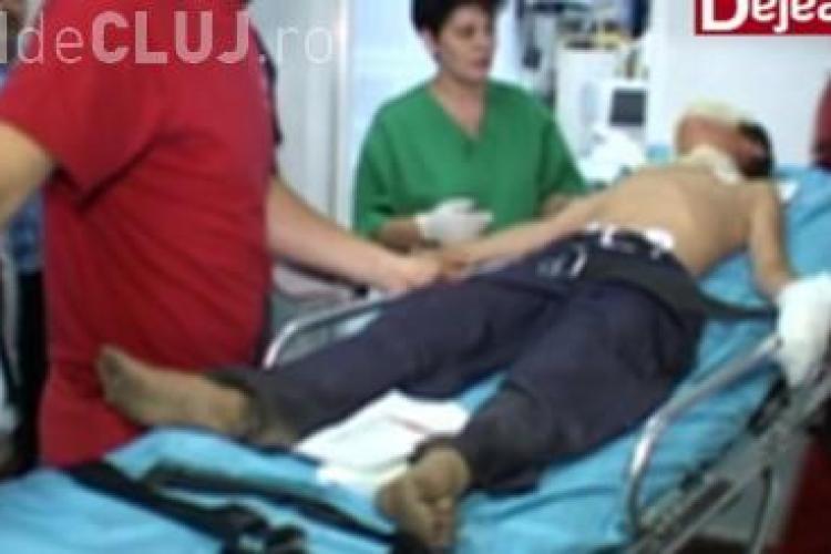 Incident tragic la Dej! Doi copii au ajuns în stare gravă la spital după ce s-au electrocutat pe un tren VIDEO