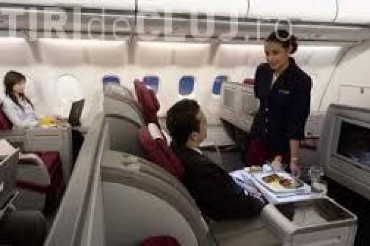 Care este viața unei stewardese românce la o companie aeriană din Golf?