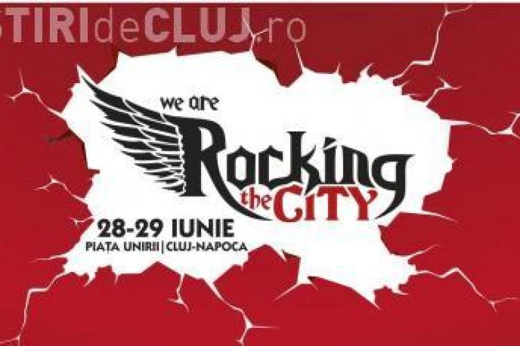 Festival de muzică rock în centrul Clujului. Vezi ce trupe vor veni