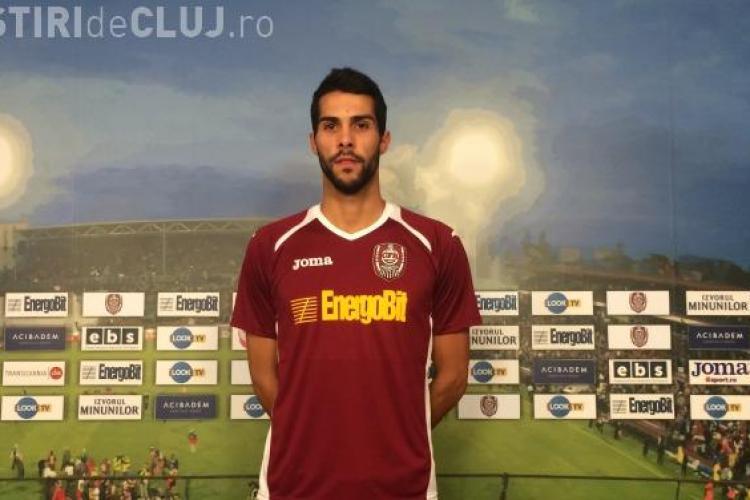 Încă un portughez vine la CFR Cluj. Joao Paulo a semnat un contract pe trei sezoane