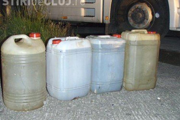 Escrocii clujeni care vând apă în loc de motorină și-au reluat activitatea. Vezi cum își racolează clienții AUDIO