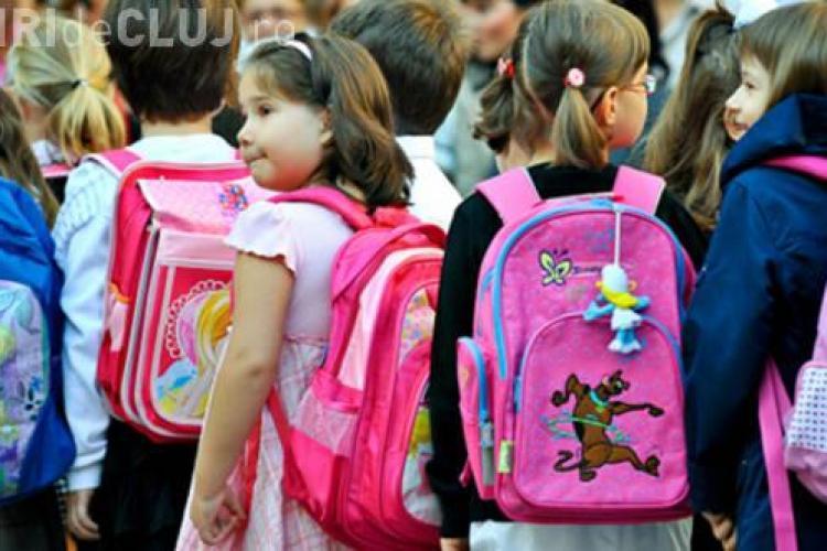 La scolile din centrul Clujului, 80% dintre elevi intră în clasa zero cu flotantul părinților