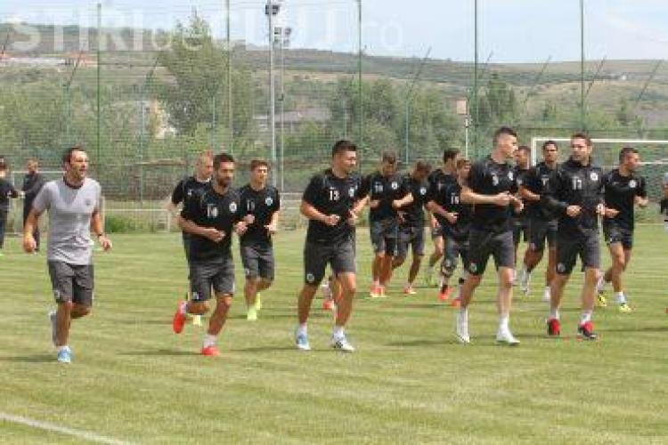 Cu cine joacă U Cluj în catonamentul din Austria