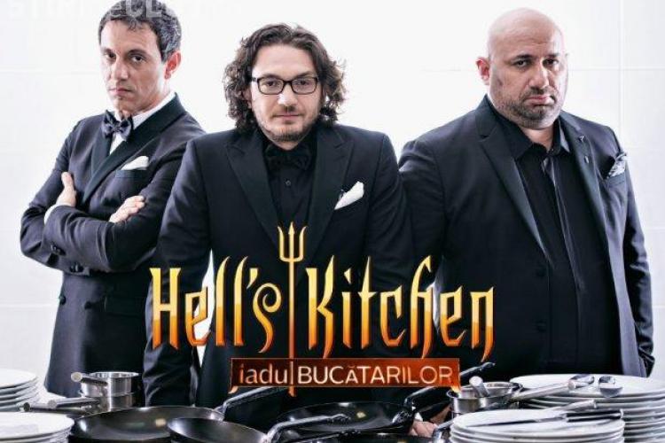 Cei trei bucătari de la Masterchef părăsesc PRO TV-ul. Vor prezenta emisiunea Hell's Kitchen
