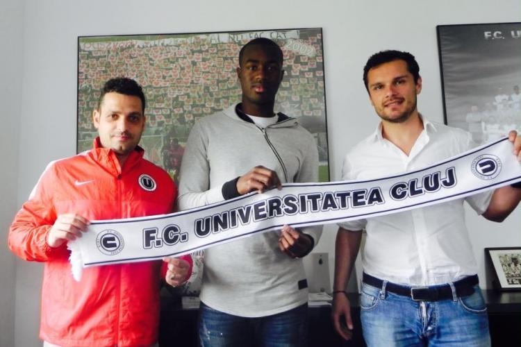 """""""U"""" Cluj își îmbogățește lotul cu doi noi jucători"""
