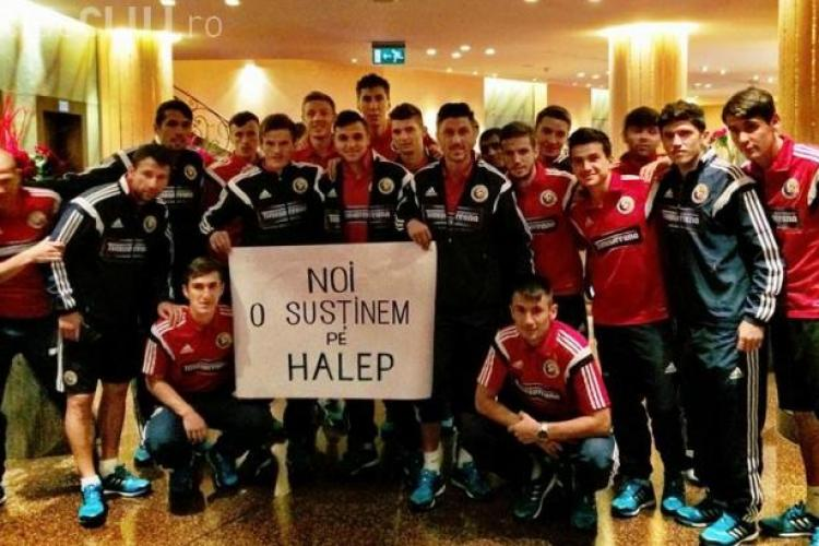 Mesaj emoționant pentru Simona Halep din partea naționalei României FOTO