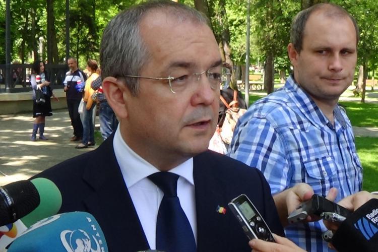 Emil Boc îl susține pe Iohannis ca și candidat al PNL şi PDL la prezidenţiale