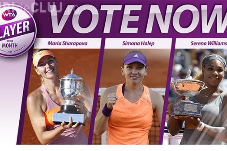 Voteaz-o pe Halep pe site -ul WTA! Concurează la titlul de cea mai bună jucătoare a lunii