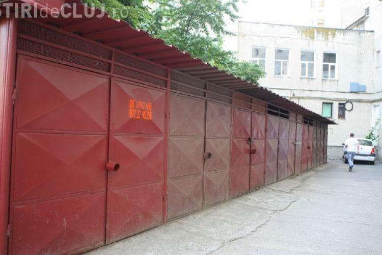 Clujean prins furat din garaje în toiul nopții