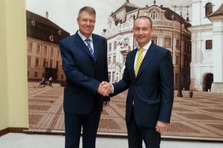 Klaus Iohannis i-a chemat la Sibiu pe Nicoară, Seplecan și deputații PNL de Cluj - FOTO