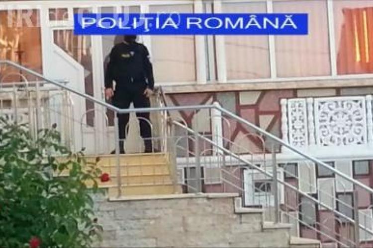 Descindere a polițiștilor în cazul evaziunii fiscale de 1,3 milioane de euro de la Cluj VIDEO