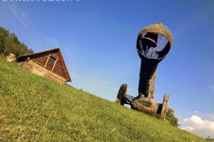 Parcul artistic din Vlaha, al artistului Ernő Bartha, va fi inaugurat duminică - FOTO
