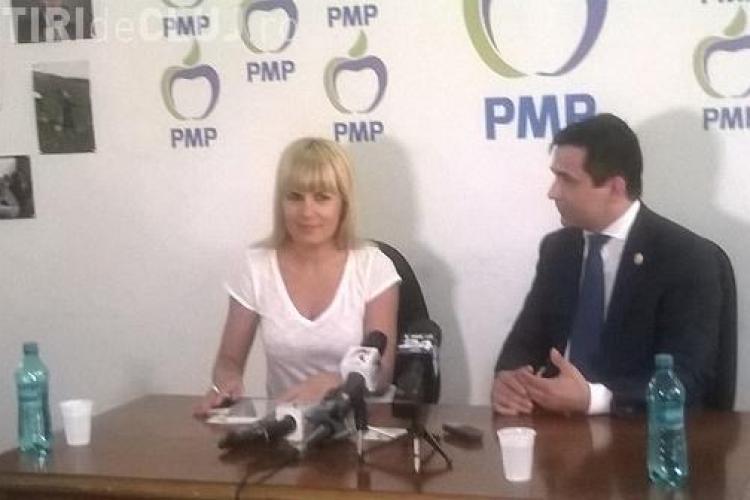 Elena Udrea a venit la Cluj după câștigarea mandatului de președinte PMP