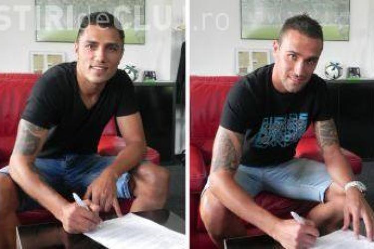 Doru Bratu și Dino Škvorc au semnat cu Universitatea Cluj