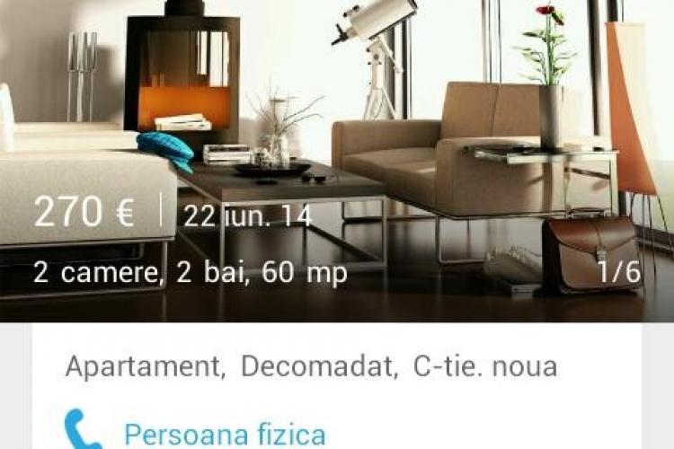 Fizbo - aplicația de telefon care îți caută o chirie în Cluj-Napoca. E creată de un fost student de la Poli