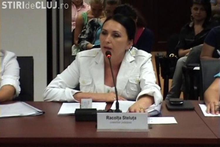 Steluța Racolța, consilier județean Cluj, este incompatibilă. Firma ei făcea afaceri cu statul