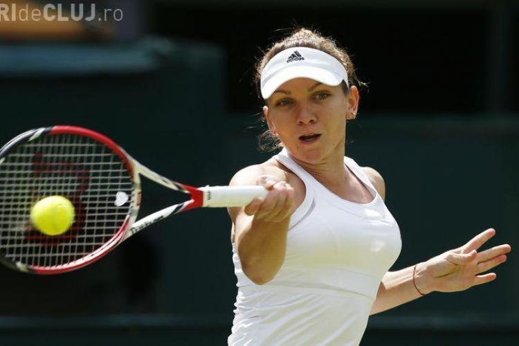 Simona Halep e în SEMIFINALA de la Wimbledon