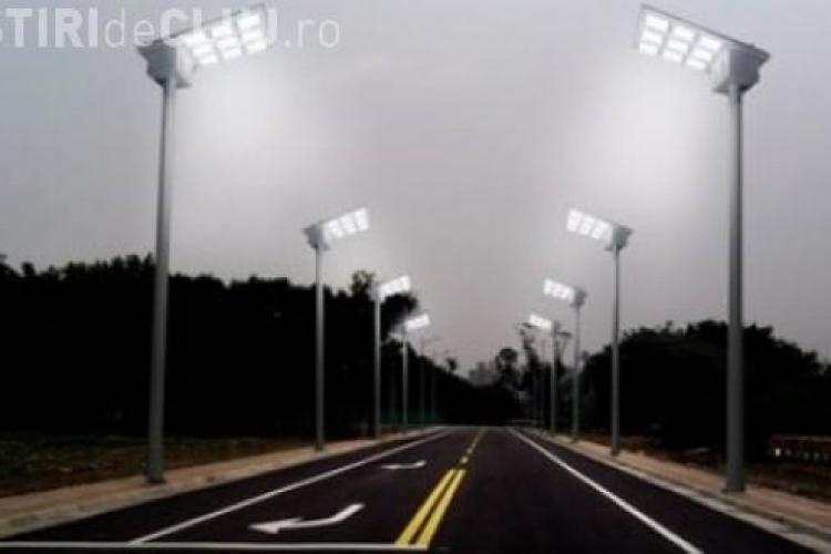22 de străzi din Cluj-Napoca vor avea iluminat ecologic - LED - din fonduri elveţiene