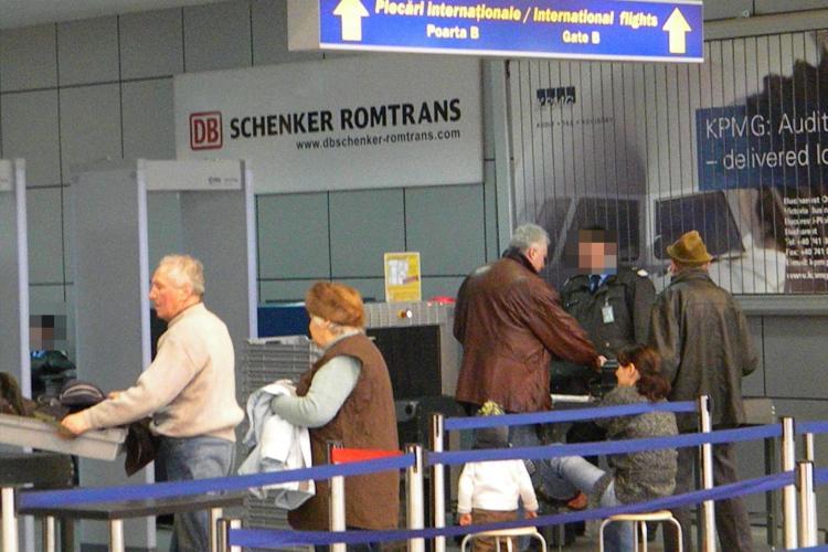 """O angajată a Aeroportului Cluj a """"corupt"""" Securitatea Aeroportuară, Poliția Transporturi și jandarmii"""