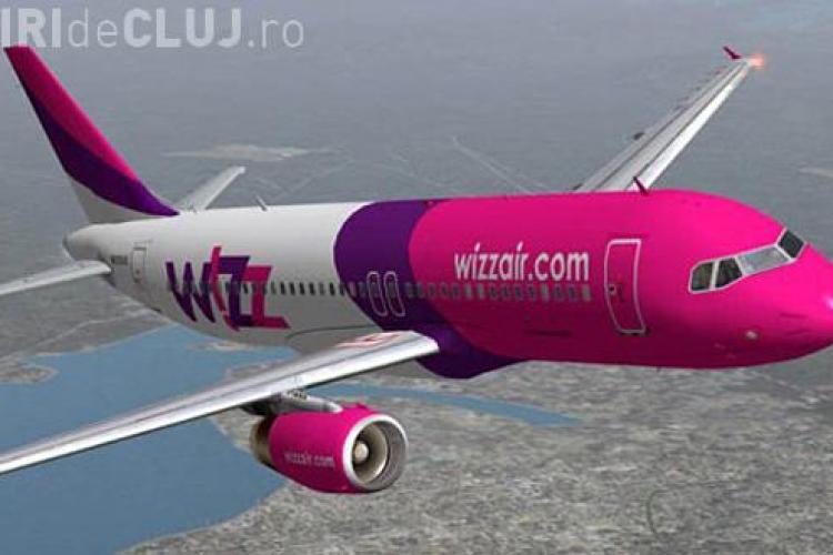 Wizz AIR crește frecvența zborurilor de la Cluj pe cele mai frecventate rute