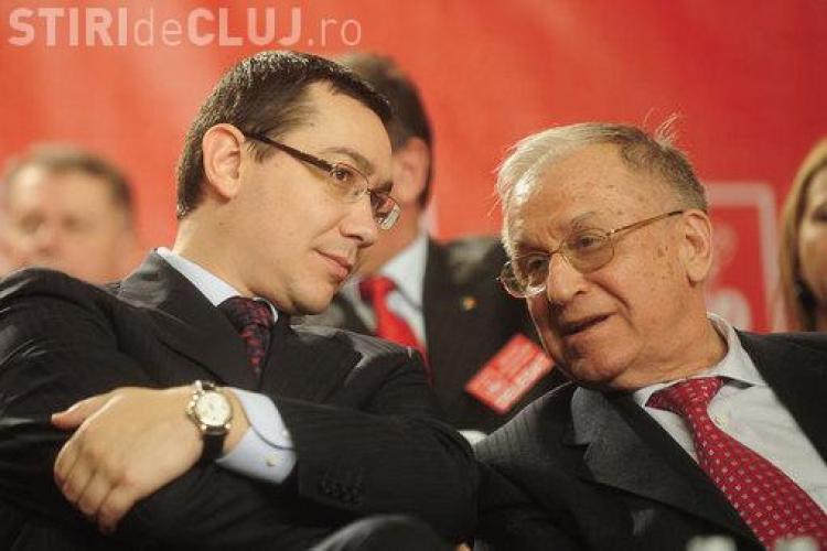 """Lovitură pentru Victor Ponta din partea lui Iliescu: """"E prea tânăr ca să fie președinte"""""""