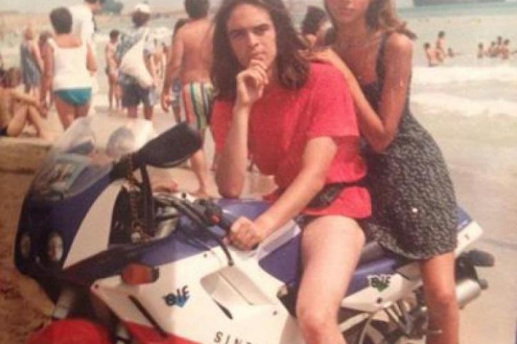 Iulia Vântur la 16 ani era de nerecunoscut - FOTO
