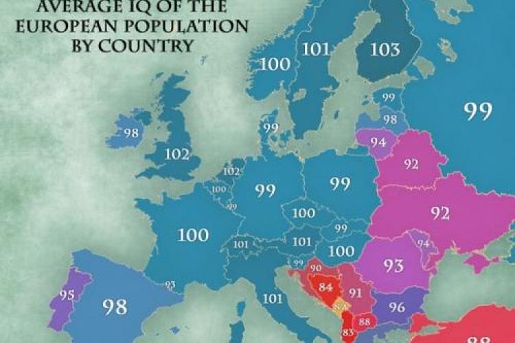 Care sunt cei mai inteligenţi europeni. Românii sunt după bulgarii