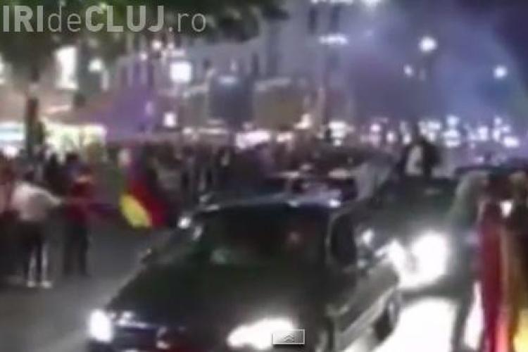 Noaptea în care Berlinul nu a dormit! Cum au sărbătorit nemții victoria Germaniei la CM 2014 VIDEO