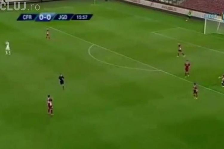 CFR Cluj a făcut egal cu Jagodina în primul meci din Europa League REZUMAT VIDEO
