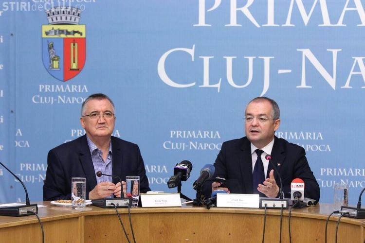 Boc a semnat contractul de cumpărare a 40 de autobuze NOI în Cluj-Napoca