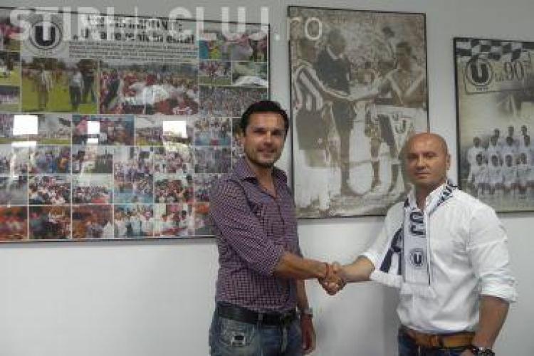 Una dintre legendele Universității Cluj se întoarce la echipă. Vezi ce post va ocupa