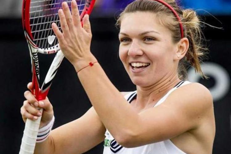 Simona Halep s-a calificat în sferturile de finală de la Wimbledon