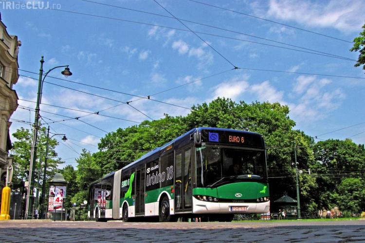 Așa va arăta autobuzul polonez care va circula în Cluj-Napoca. Ce CULOARE ar trebui să aibă? - FOTO