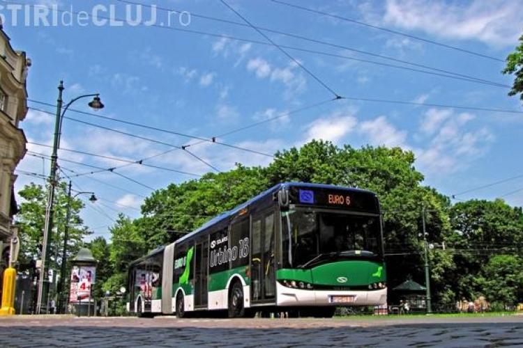 În ce CULORI vor fi vopsite noile autobuze din Cluj-Napoca? Costă 50 de milioane de lei