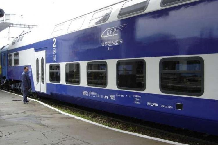 PREMIERĂ! Un tren din România circulă cu 160 km/h