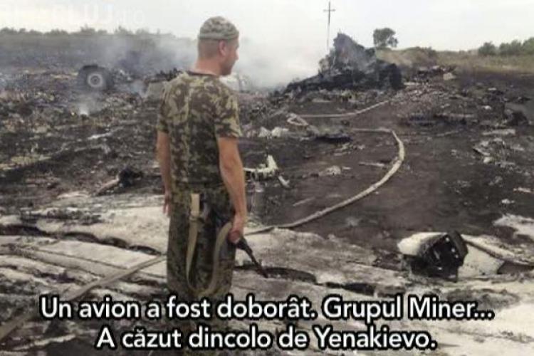 În cazul avionului prăbușit, serviciile secrete ucrainiene au interceptat discuții între OFIŢERI RUŞI şi SEPARATIŞTII proruşi