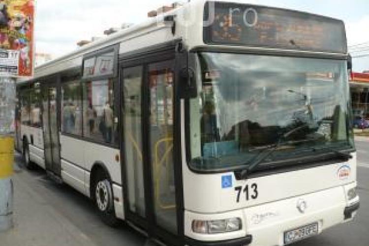 Traseele mai multor autobuze CTP se modifică din cauza lucrărilor de reabilitare. Vezi ce linii sunt afectate