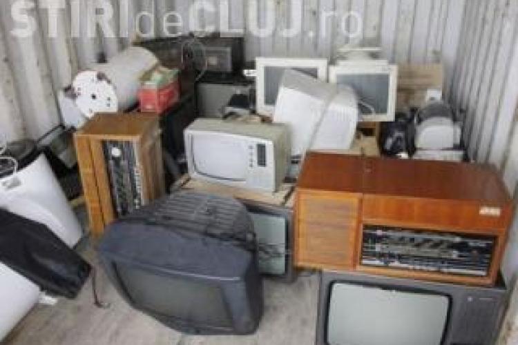 Cluj: Deșeurile electrice și electronice sunt colectate sâmbătă, 2 august