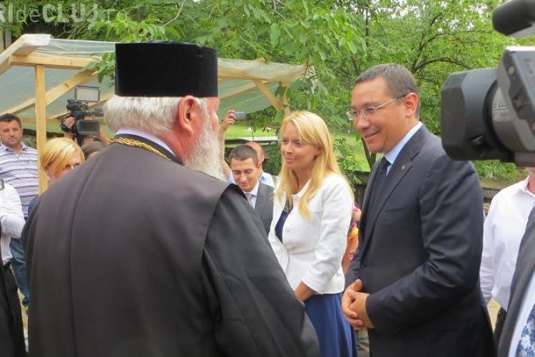 Ponta s-a rugat la Nicula la icoana Fecioarei Maria. Ce dorințe și-a pus