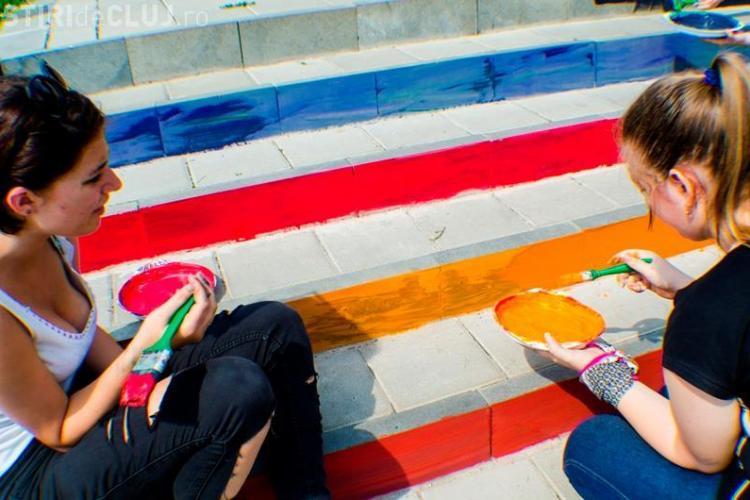 Scările GRI spre Cetățuie au prins VIAȚĂ! Ar trebui sa rămâna așa permanent? - FOTO