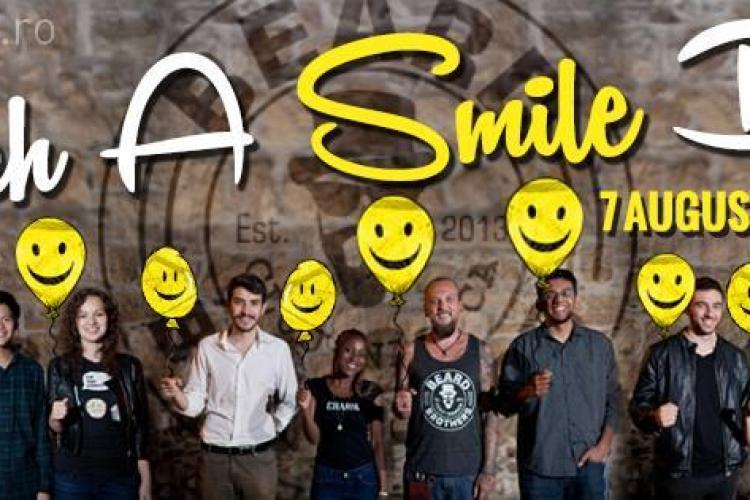"""Barboșii de la Beard Brothers Cluj te invită să faci o faptă bună, în cadrul campaniei """"Catch a Smile Day"""" - VIDEO"""