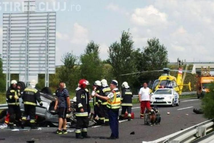 Un român mort și alți patru răniți într-un accident în Ungaria FOTO